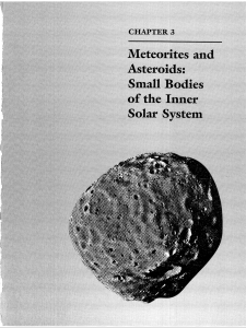 3. Meteorites and Asteroids