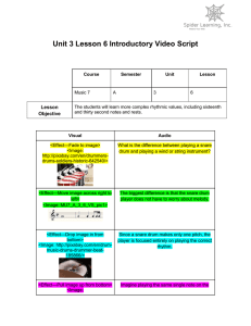 Unit 3 Lesson 6 Introductory Video Script