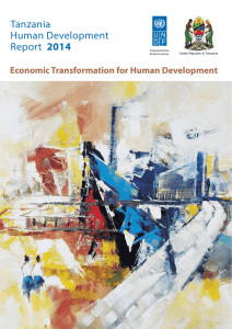 Tanzania Human Development Report 2014