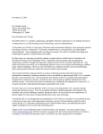 Joint Letter Urging the President-elect to Appoint a Science Advisor