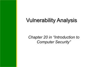 Introduction to Information Security Chapter 2