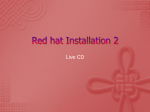 Red hat Installation 2