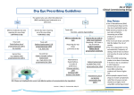 Dry Eye Prescribing Guidelines