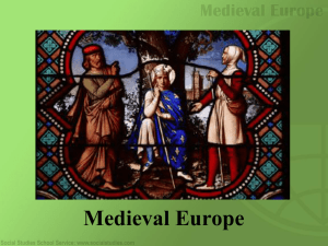 Medieval Europe - Middletownk12.