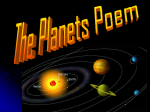 the planets poem ppt