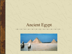 Ancient Egypt - MMSCollaborates
