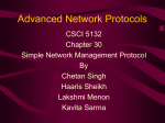 Advanced Network Protocols
