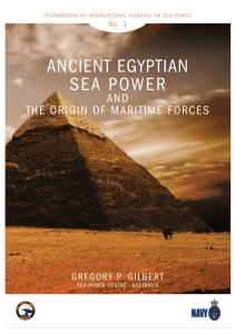 ancient egyptian sea power