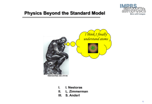 Byond Particle Physics