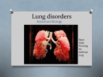 Lung disorders - Sonoma Valley High School