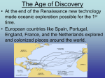 Why did Europeans Explore?