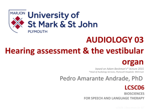 Audiology 03 PEDRO 2017LS