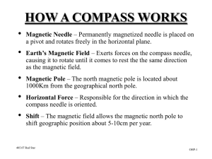 The Parts of the Compass - 2137 Calgary Highlanders