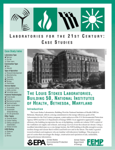 The Louis Stokes Laboratories, Building 50, National Institutes of