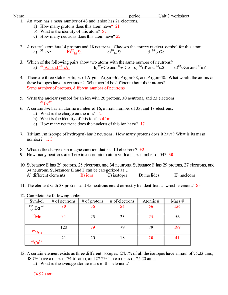 Unit 3 worksheet answers gamestrikefo Image collections