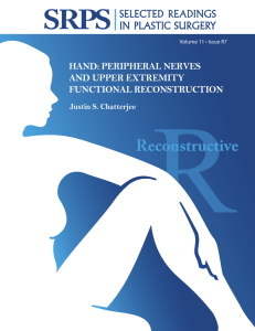 Volume 11 Issue R7 Hand:Peripheral Nerves and Upper Extremity
