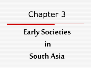 Early Societies in South Asia