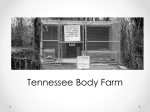 Tennessee corpse farm