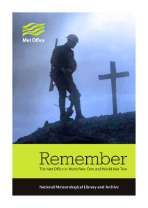 Remember - Met Office