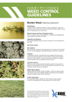 weed control guidelines