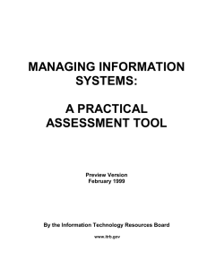 managing information systems: a practical assessment tool