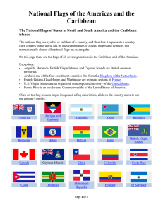 National Flags of the Americas and the Caribbean