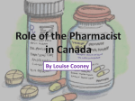 Pharmacists contribute to the health care system by