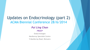 Updates on Endocrinology 2014 ACMA Biennial Conference