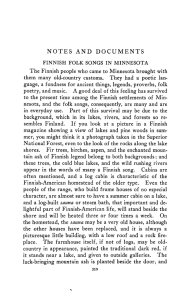 Finnish folk songs in Minnesota / [Marjorie Edgar].