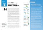 BALANCED MANAGEMENT OF MARINE RESOURCES