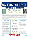 Silent Spring - University of San Diego