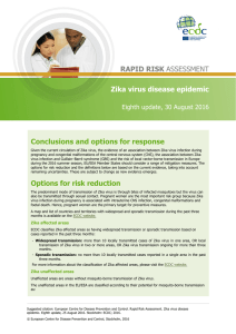 Zika virus disease epidemic