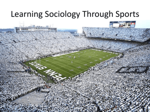 Learning Sociology Through Sports