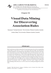 Visual Data Mining for Discovering Association Rules