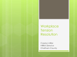 Miller - Workplace Tension Resolution
