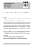 Automatic Transformer Observation Device (ATOS)