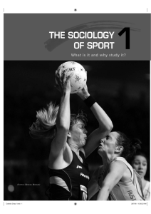 what is the sociology of sport?