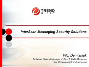 InterScan Messaging Security Solutions