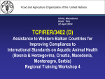 5 tcp/rer/3402/edpr/reant - Assistance to Western Balkan Countries