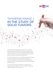 in the study of solid tumors
