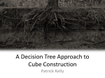 A Decision Tree Approach to Cube Construction