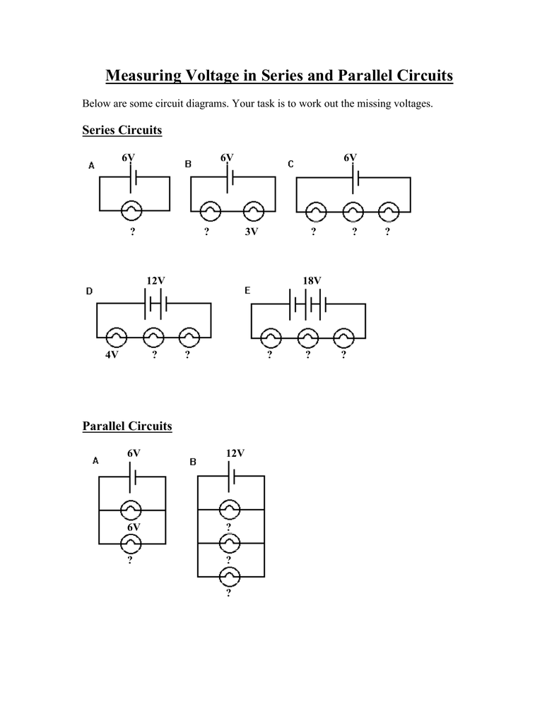 Measuring Voltage In Series And Parallel Circuits Circuit 002880551 1 7e50c0ab39fd3f8be07bb37678ad3b75