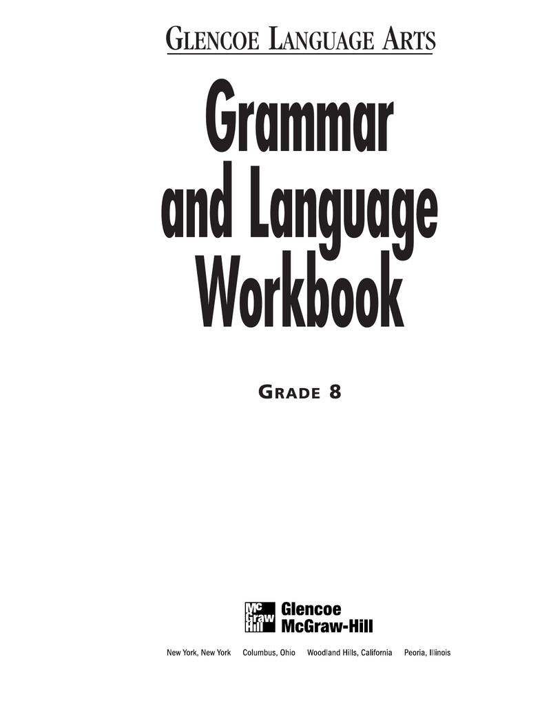7109bad6c0c Grammar and Language Workbook