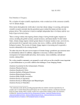 BSA`s 2016 Letter on Climate Change