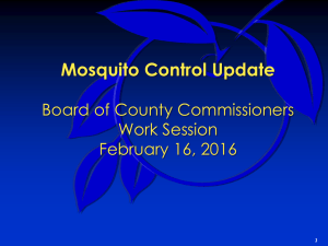 2016-02-16 Discussion Mosquito Control Update