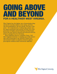 Going Above and Beyond for a Healthier West Virginia