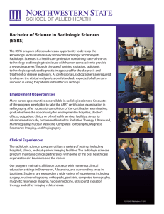 Bachelor of Science in Radiologic Sciences (BSRS)