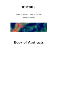 Book of Abstracts - University of Sheffield