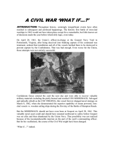 A CIVIL WAR `WHAT IF…?`