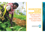ECOSYSTEM BASED ADAPTATION benefiting humanity and nature